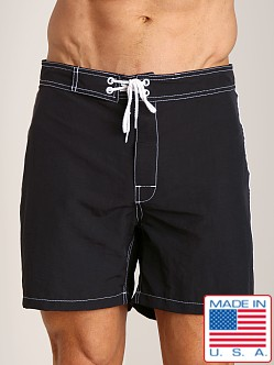 Sauvage Low Tide Nylon Swim Trunk Black