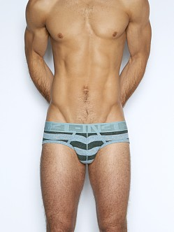 C-IN2 Hand Me Down Lo No Show Brief Private/Ice Grey
