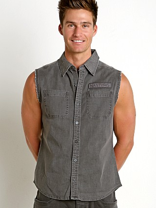 Nasty Pig Industry Sleeveless Shirt Grey