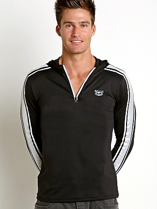 Nasty Pig Reflector Pullover Hoodie Black/Reflective