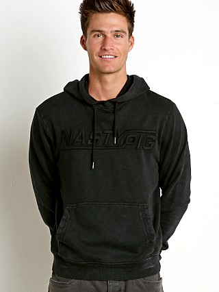 Nasty Pig Pavement Hoodie Black