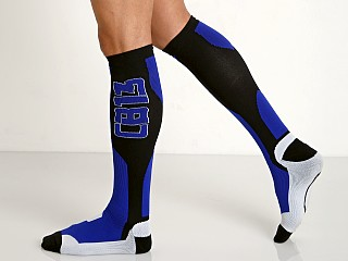 Cell Block 13 Arsenal Knee High Socks Blue