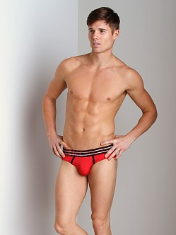 Gregg Homme Charged MicroMesh Brief Red