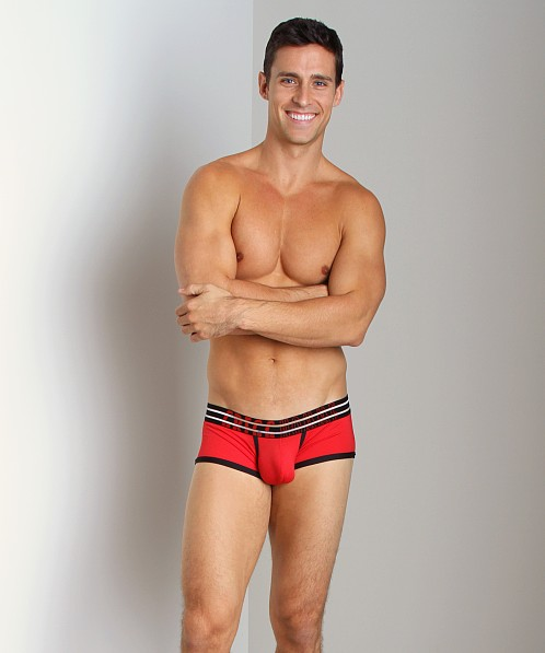 Gregg Homme Charged MicroMesh Boxer Briefs Red