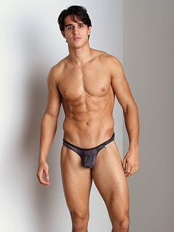 Gregg Homme Midnight See-Thru Tie Dye Thong