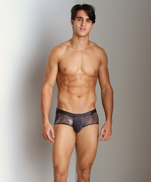 Gregg Homme Midnight See-Thru Tie Dye Boxer Brief