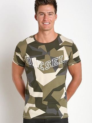 Complete the look: Diesel Camouflage Randal T-Shirt Olive