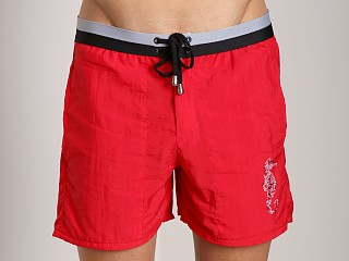 Complete the look: LASC Sea Horse Swim Trunk Red