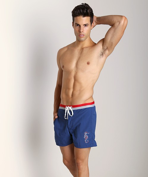 LASC Sea Horse Swim Trunk Royal