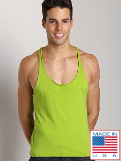 LASC String Tank Lime
