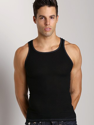 Complete the look: LASC Ribbed Tank Black