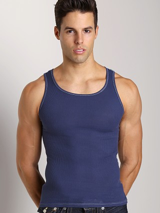 You may also like: LASC Ribbed Tank Navy
