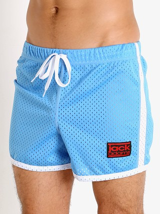 Model in sky/white Jack Adams Air Mesh Training Short