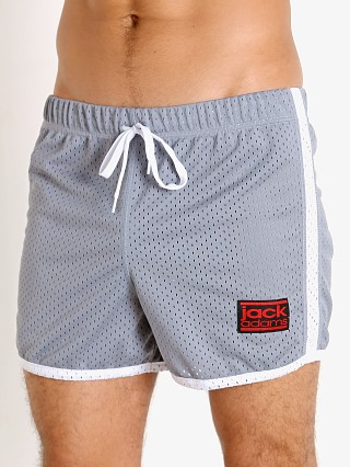 Model in grey/white Jack Adams Air Mesh Training Short