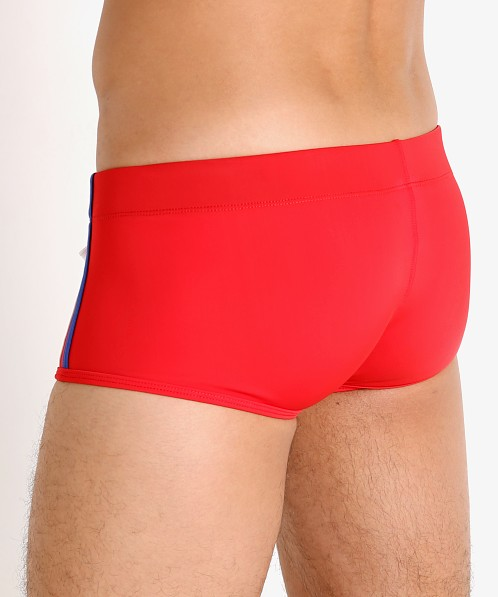 Jack Adams Kayak Enhancing Swim Trunk Red