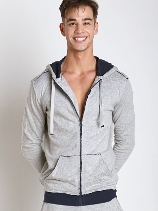 Complete the look: Diesel Cotton Jaquard Brandon Hoodie Grey