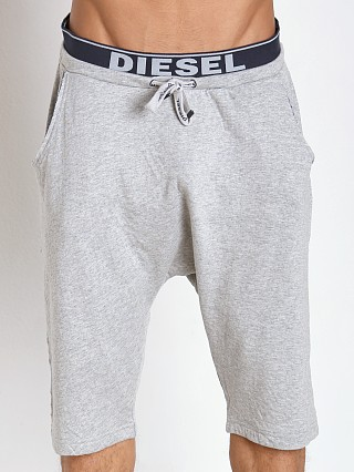 Diesel Cotton Jaquard Terence Shorts Grey