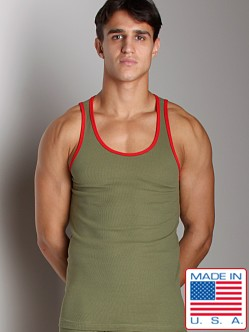 N2N Boot Camp Tank Green