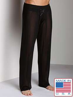 N2N Sheer Lounge Pant Black