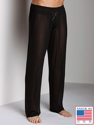 N2N Bodywear Sheer Lounge Pant Black