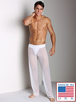 N2N Sheer Lounge Pant White