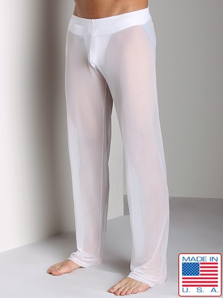 N2N Bodywear Sheer Lounge Pant White