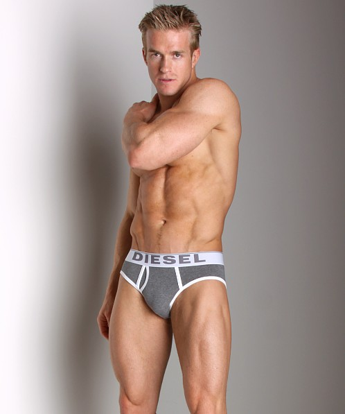 Diesel Fresh and Bright Lukex Brief Steel Grey