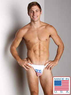 ActiveMan USA Swimmer Jockstrap White