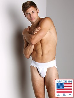 ActiveMan Jockstrap with Fly White