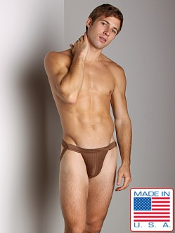 Activeman Swimmer Jockstrap Brown