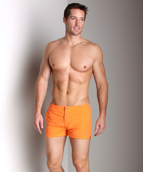 Diesel Grommet Swim Shorts Orange