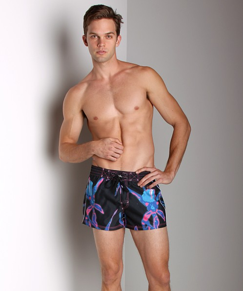 Diesel Coralrif Printed Swim Shorts Black