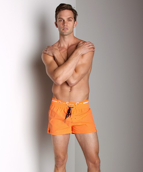 Diesel Barrely Logo Swim Shorts Orange