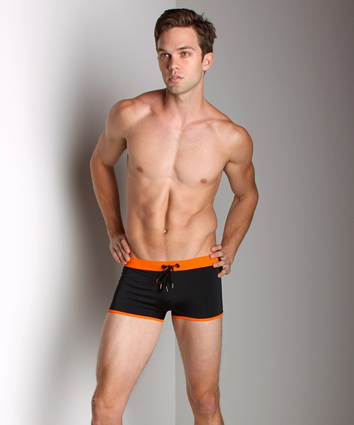 Diesel Maori Fresh & Bright Swim Trunk Black