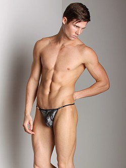 Gregg Homme Weapon Buckle Thong Black/Silver