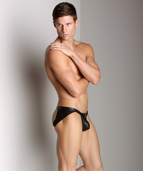 Gregg Homme Fuel Rubber Look Super Jock Black