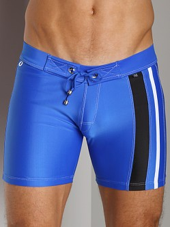 Tulio Scuba Side Stripe Jammer Royal