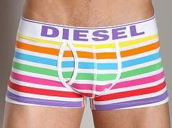 Diesel Rainbow Striped Divine Trunk White