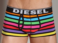 Diesel Rainbow Striped Divine Trunk Black