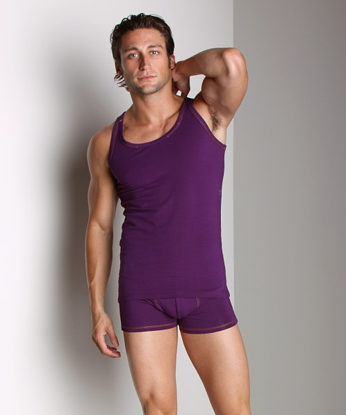 Diesel Johnny Tank Top Plum