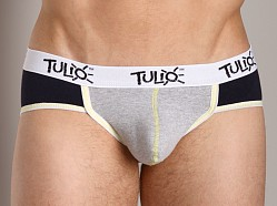 Tulio Power Pouch Contrast Stitch Sport Brief Navy