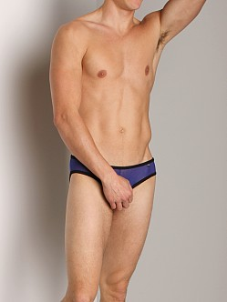 Tulio Power Pouch Mesh Enhancing Low-Rise Brief Royal