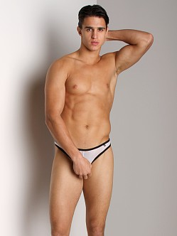 Tulio Power Pouch Mesh Enhancing Thong White