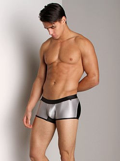 Tulio Surf Curve Panel Cire Swim Short Baby Silver