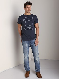G-Star 3301 Straight Jeans Memphis Denim