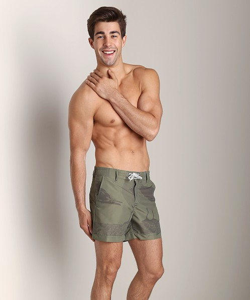 G-Star Islander Swim Shorts Sage