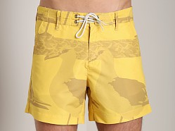 G-Star Islander Swim Shorts Dark Lemon