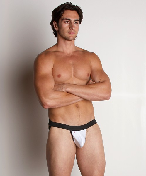 Joe Snyder Launch Jockstrap White
