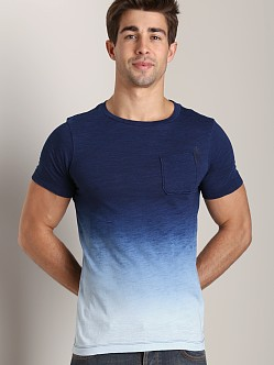 G-Star Galley Dipped T-Shirt Indigo