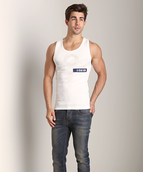 G-Star Aye Cool Rib Tank Top Milk